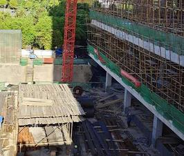 新华生活广场项目火热施工中